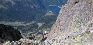 Parte superior del Gran Pic. Al fondo, Bious-Artigues.