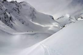 Chamonix- Zermatt con esquís.