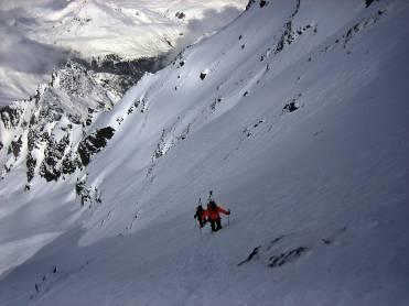 Gran Combin de Valsorey, Alpes Suizos.