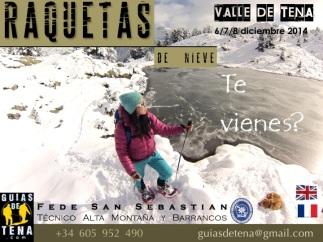 Raquetas Pirineos Valle de Tena