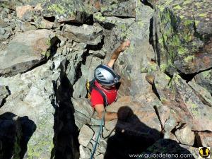 Saliendo a la Punta de Aragón por la subterránea chimenea Marsoo