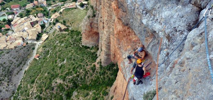 guias de escalada Riglos