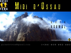 Midi d'Ossau con guía