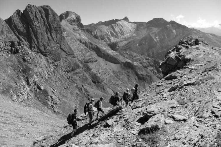 Tour del Monte Perdido con guia de montaña. Alta Ruta del monte Perdido