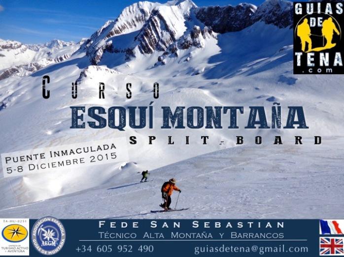 Curso Esquí de montaña Inmaculada 2015
