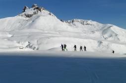 Travesías con esquis Pirineos