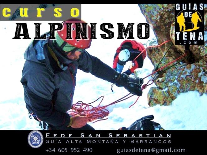 Anuncio Curso Alpinismo general