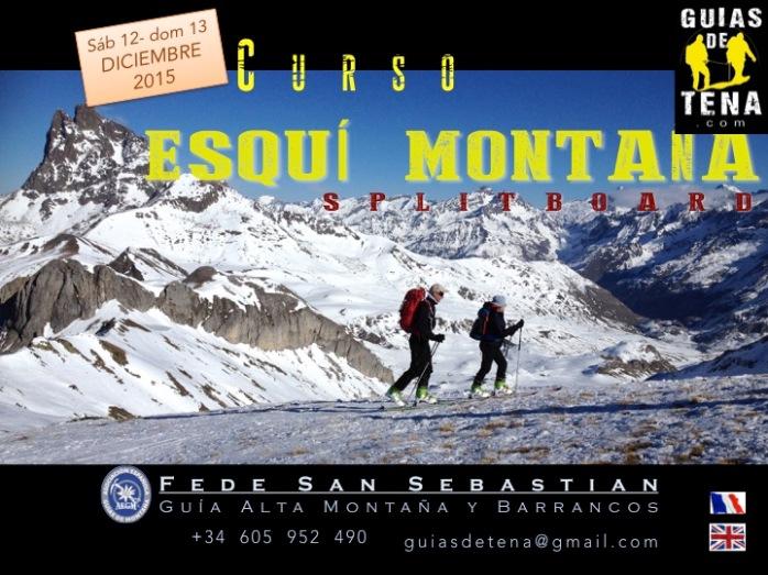 Curso Esquí de Montaña 12 y 13 diciembre 2015