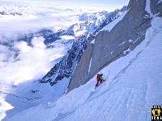 Cara Norte del Aiguille du Midi, Chamonix