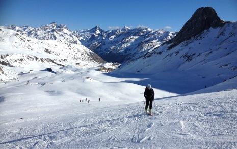curso esqui de montaña valle de tena