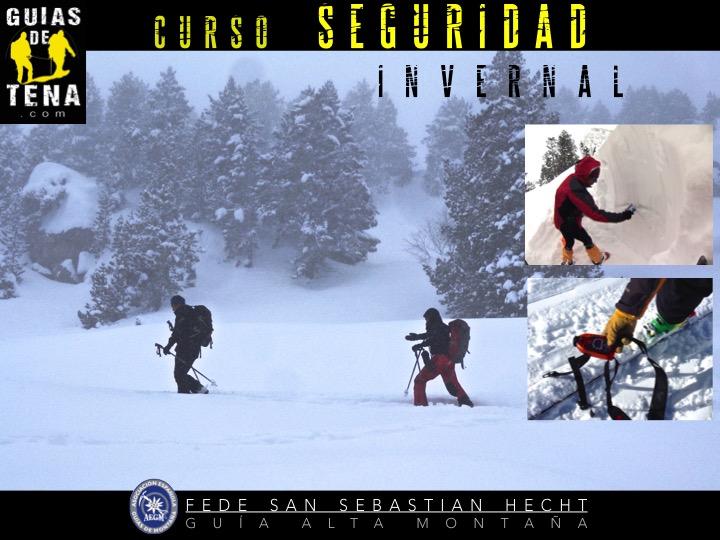 Anuncio curso seguridad invernal