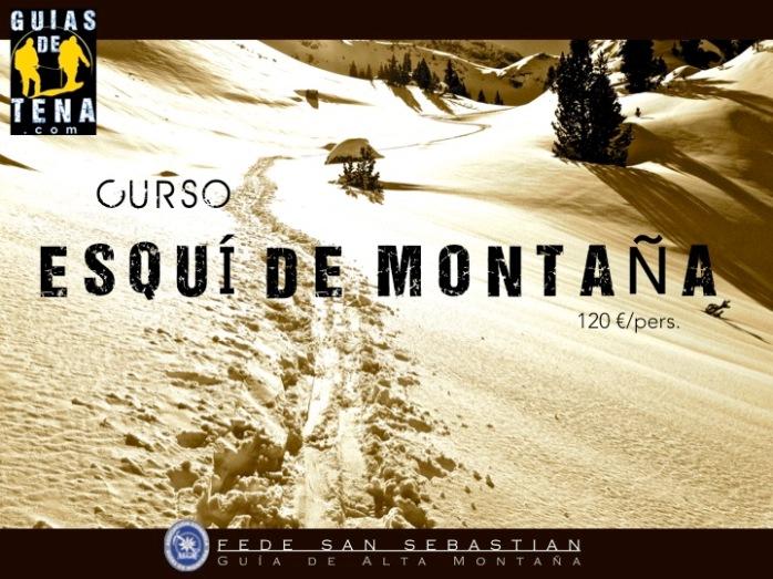 Curso Esquí de Montaña 16 y 17 Enero 2016