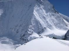 Tomás y el Mt Blanc de Cheilon