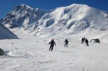 Dejando atrás el Mt Brulé