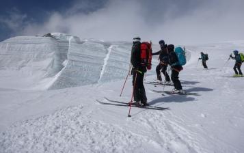 Glaciar de Stockji, de camino a Zermatt