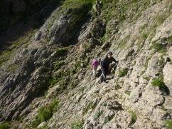 Peña Telera, ruta normal