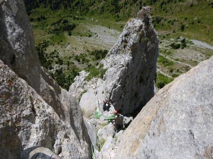 Escalada Foratata guía