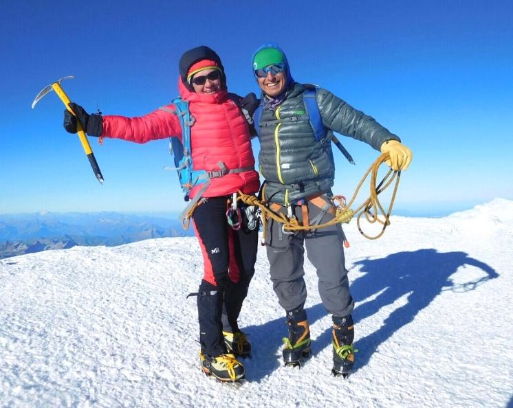 Mont Blanc guia de montaña