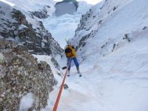 Adrian, local y excelente esquiador.