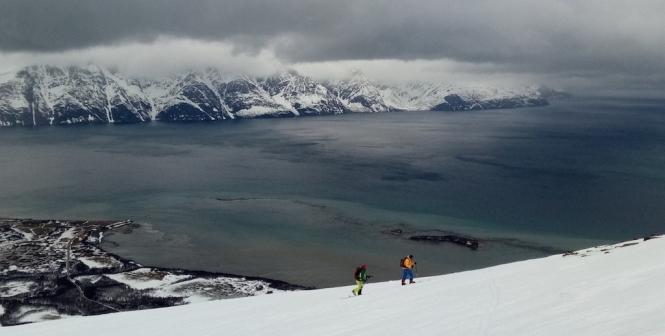 guia de esqui de montaña noruega