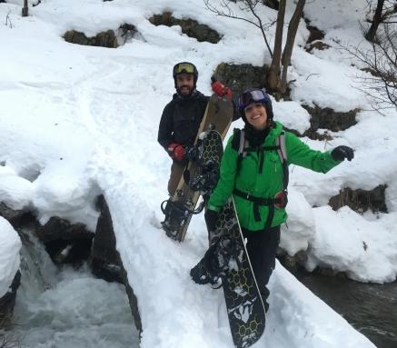 curso ski de montaña splitboard