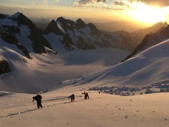 guia de montaña alpes Ecrins